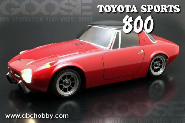 ABC HOBBY 01スーパーボディミニ スポーツ800 66305の商品画像 ナビ