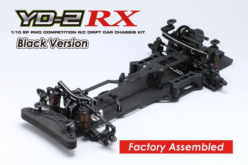 ヨコモ 1/10RC YD-2RX 組立済 シャーシ ブラックバージョン DP-YD2RABの商品画像|ナビ