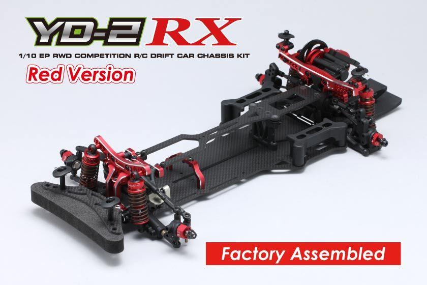 ヨコモ 1/10RC YD-2RX 組立済 シャーシ レッドバージョン DP-YD2RARの商品画像 ナビ
