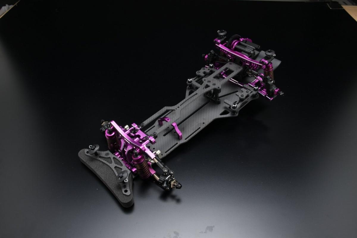 ヨコモ 1/10RC YD-2RX 組立済 シャーシ フルオプション仕様 パープルバージョン DP-YD2RSAPの商品画像 ナビ