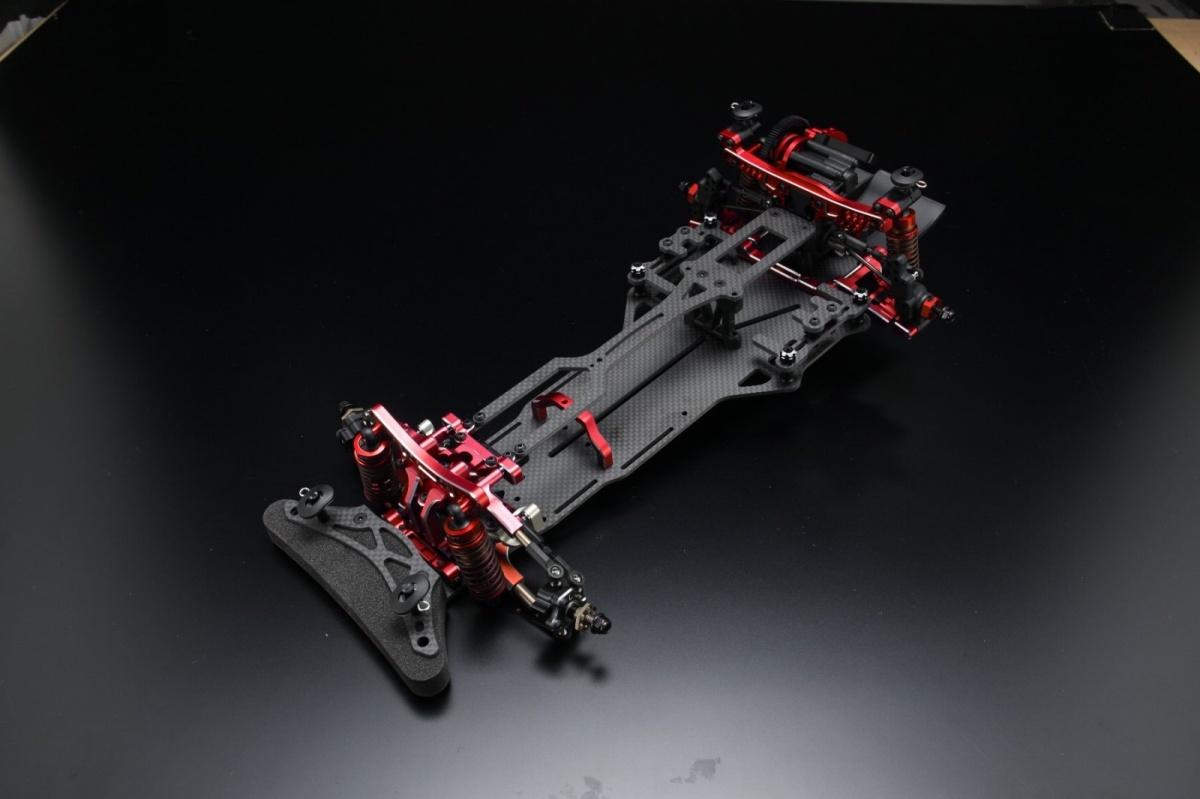 ヨコモ 1/10RC YD-2RX 組立済 シャーシ フルオプション仕様 レッドバージョン DP-YD2RSARの商品画像 ナビ