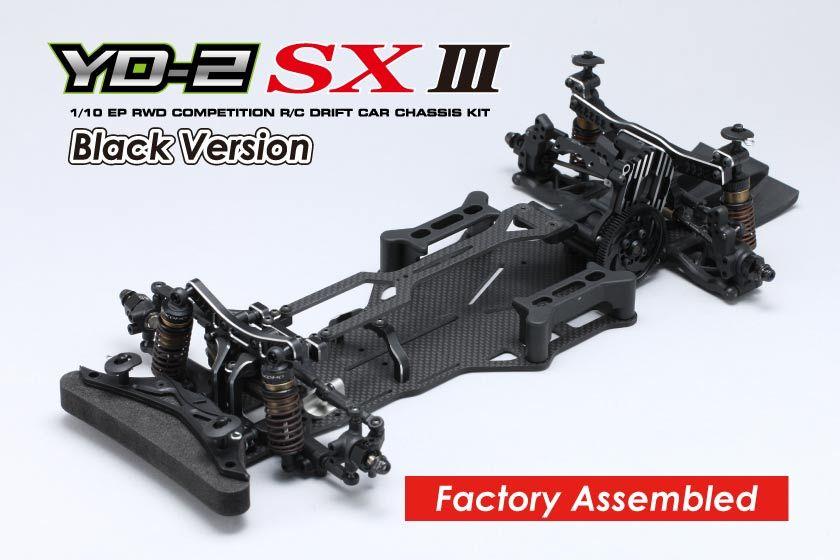 ヨコモ 1/10RC YD-2SXIII 組立済 シャーシ ブラックバージョン DP-YD2SABの商品画像|ナビ