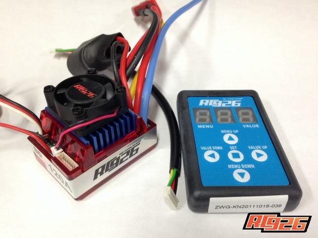 KN企画 ドリフトセンサードブラシレスESC セッティングボード付 KN-DE01の商品画像 ナビ