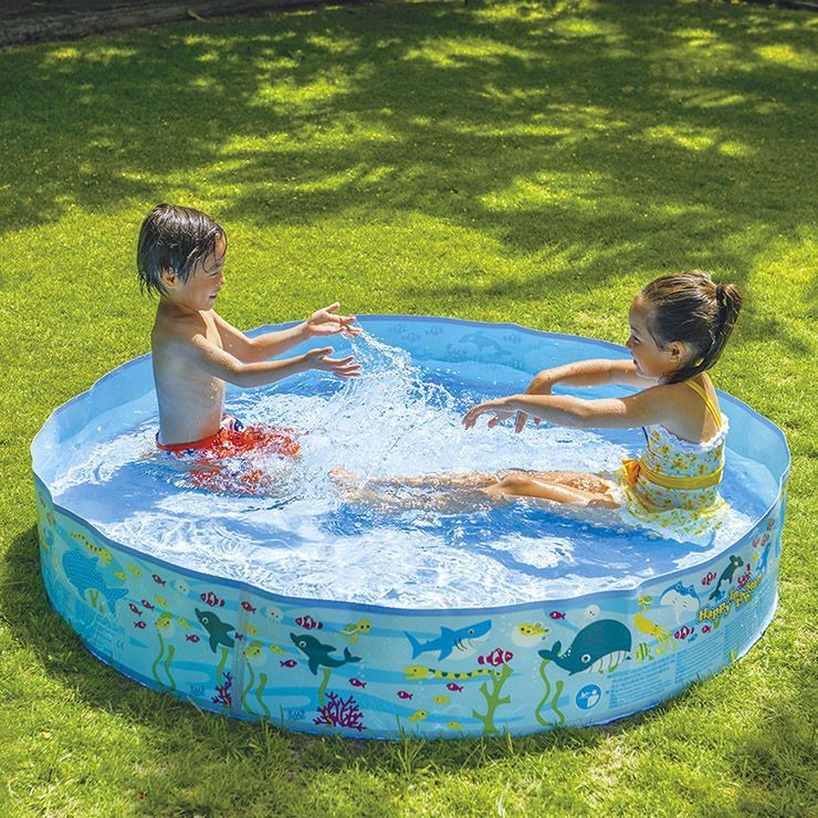 空気入れ不要 JILONG ジーロン ガーデンプール150cm ビニールプール 浮き輪 プール 家庭用 水遊び