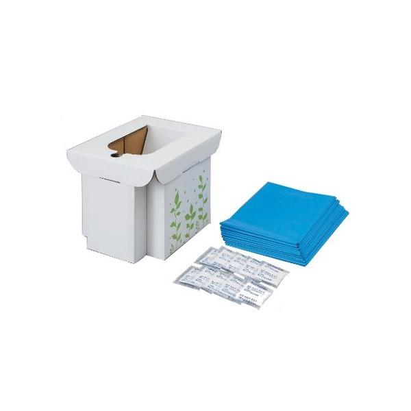 コジット 緊急用組み立て式トイレ 防災用品 防災グッズ 非常用トイレ 簡易トイレ