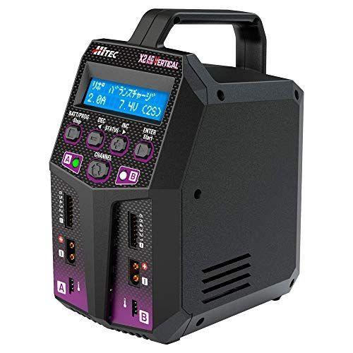ハイテック 充放電器 マルチチャージャー X2 ACプラス バーティカル 44298の商品画像 ナビ