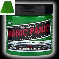 マニックパニック ヘアカラークリーム MC11029 118ml (エレクトリックリザード)の商品画像|2
