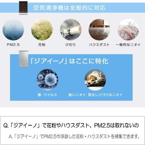 パナソニック F-MV4100-WZ ziaino(ジアイーノ) 次亜塩素酸 空間除菌脱臭機 18畳用 ホワイトの商品画像|3