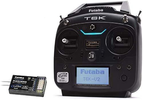 フタバ プロポ 6K(6ch-2.4GHz)T6KH R3006SB ヘリ用 T/Rセット 027581の商品画像|ナビ