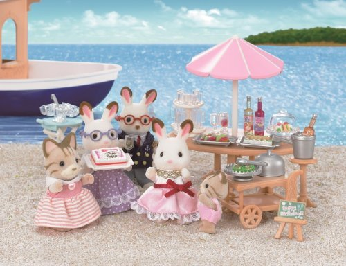 エポック社 シルバニアファミリー 海辺のバースデーパーティーの商品画像 ナビ