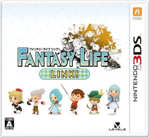【3DS】レベルファイブ ファンタジーライフ Link!の商品画像|ナビ