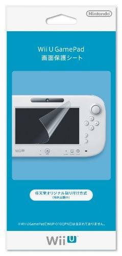 任天堂 WiiU GamePad画面保護シート WUP-A-SHAAの商品画像|ナビ
