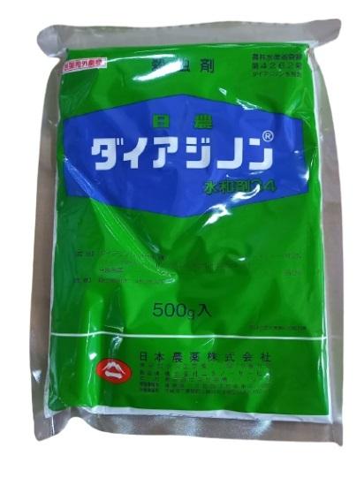 ダイアジノン34水和剤 500g 劇物