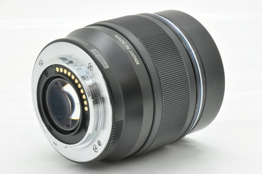 オリンパス Mズイコーデジタル M.ZUIKO DIGITAL ED 75mm F1.8(ブラック)の商品画像|2