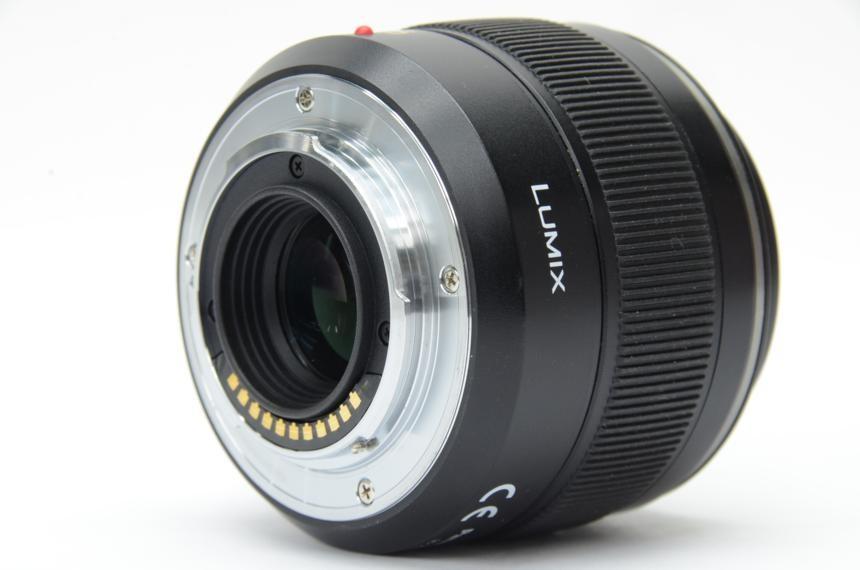 パナソニック LEICA DG SUMMILUX 25mm/F1.4 ASPH. H-X025の商品画像|2