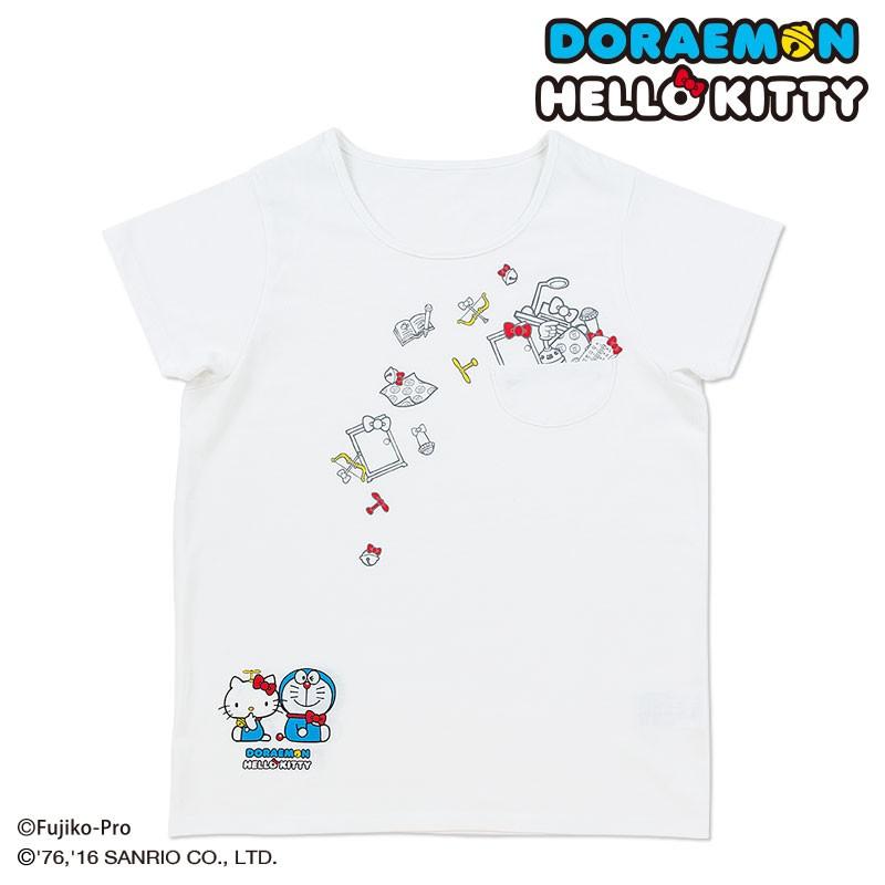 ドラえもん×ハローキティ Tシャツ(ひみつ道具)