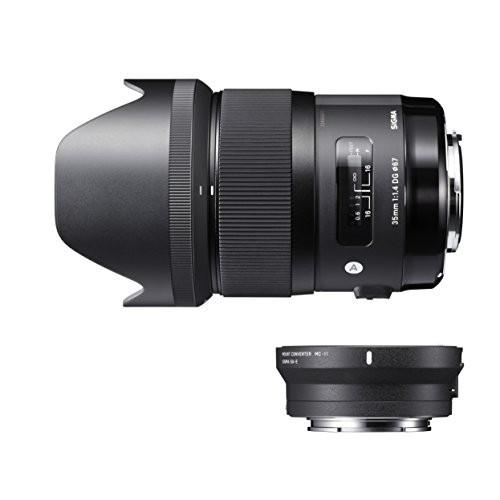 シグマ シグマDGレンズ Art 35mm F1.4 DG HSM(キヤノン用)+ MOUNT CONVERTER MC-11キットの商品画像|2