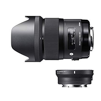 シグマ シグマDGレンズ Art 35mm F1.4 DG HSM(キヤノン用)+ MOUNT CONVERTER MC-11キットの商品画像|3