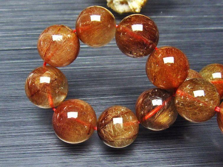 金針ルチル水晶