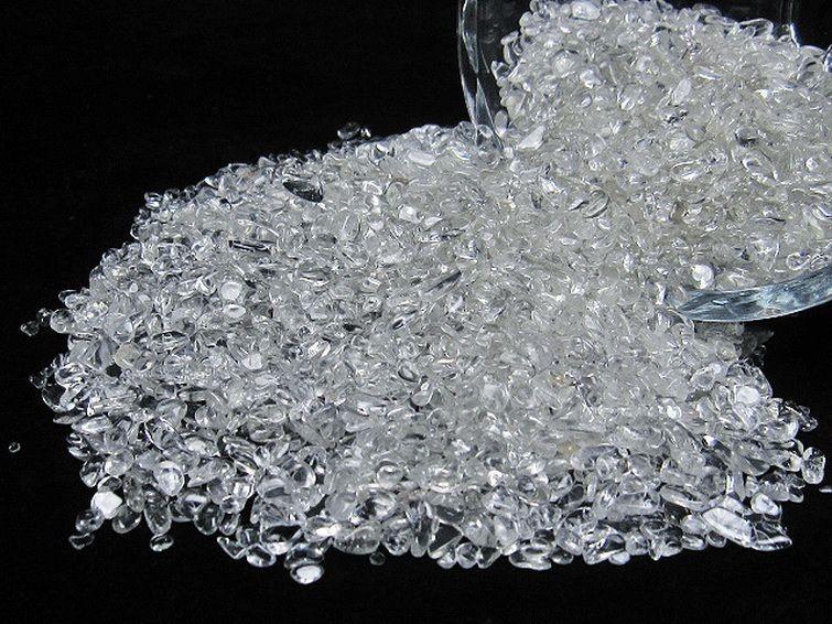 ヒマラヤ水晶さざれサイズ:小【M01-3A】