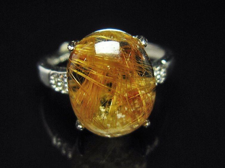 ファイナルグレード金針ルチル水晶