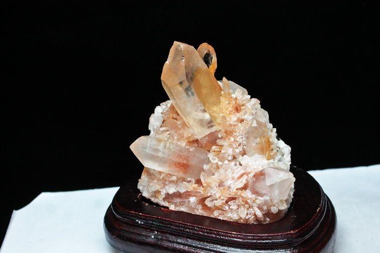 レッドファーデン水晶クラスター【T738-568】
