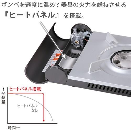 イワタニ カセットフー エコプレミアム(シルバー&マットブラック)CB-EPR-1の商品画像 4
