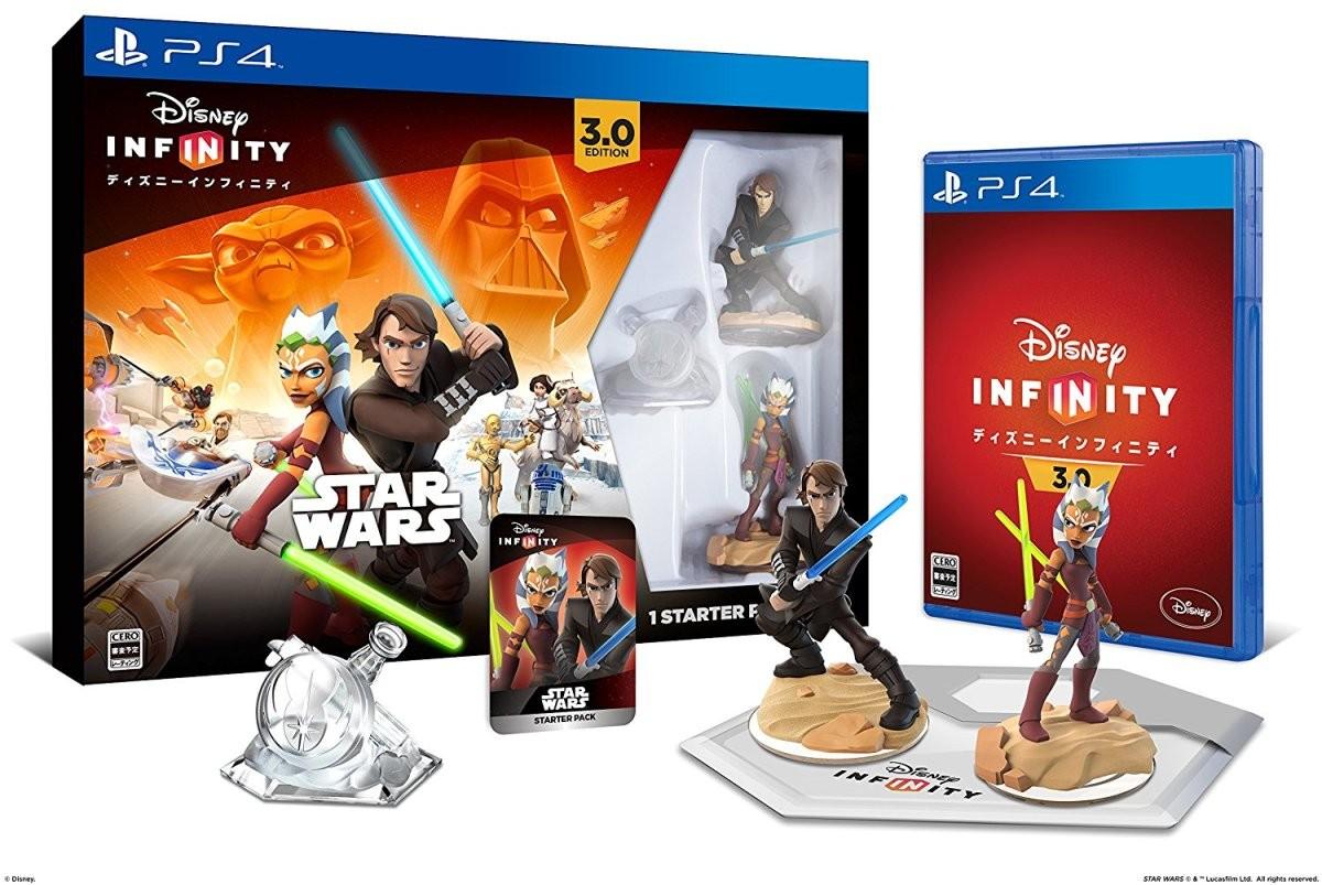 【PS4】バンダイナムコエンターテインメント ディズニーインフィニティ 3.0スター・ウォーズ/共和国の終焉 スターター・パックの商品画像 ナビ