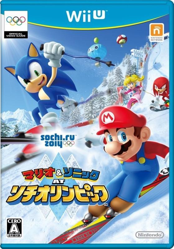 【Wii U】任天堂 マリオ&ソニック AT ソチオリンピックの商品画像|ナビ