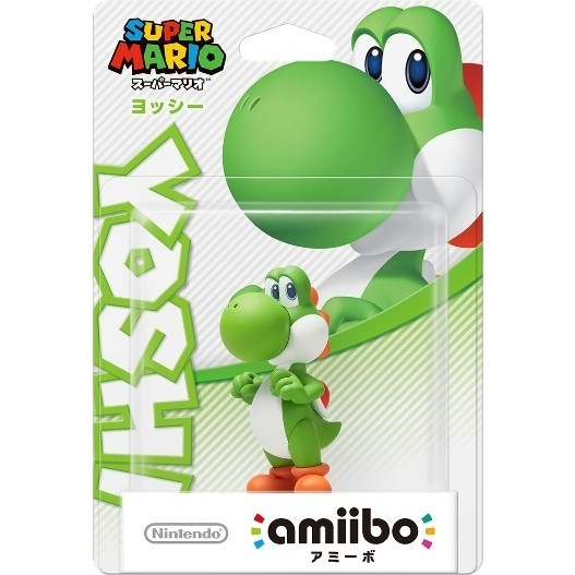 任天堂 Wii U/3DS amiibo ヨッシー(スーパーマリオシリーズ)の商品画像|ナビ