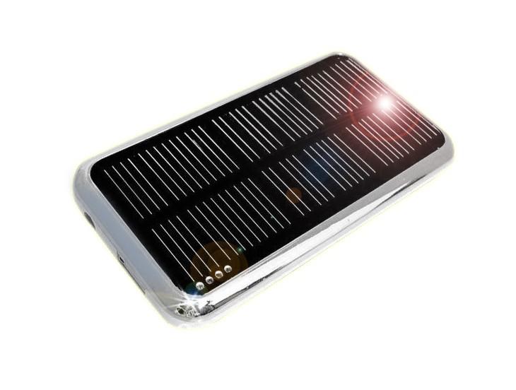 「WASHODO」ソーラーチャージャー 大容量充電器 3500mAh スマホ・携帯など充電可能!ブラック/ホワイト