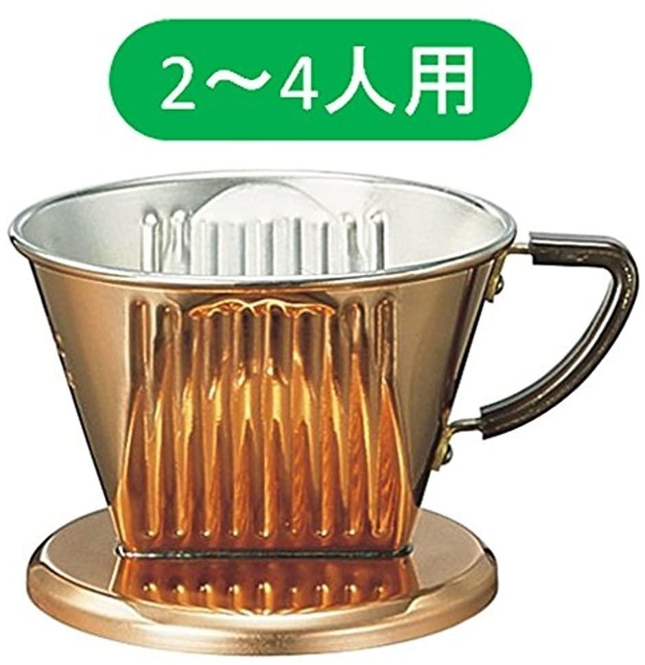 カリタ 銅製ドリッパー 102-CU 2-4人用 05009の商品画像|4