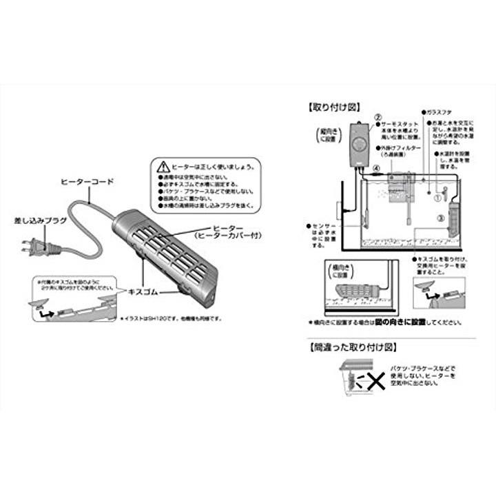 GEX セーフカバー交換用ヒーター SH220の商品画像|3