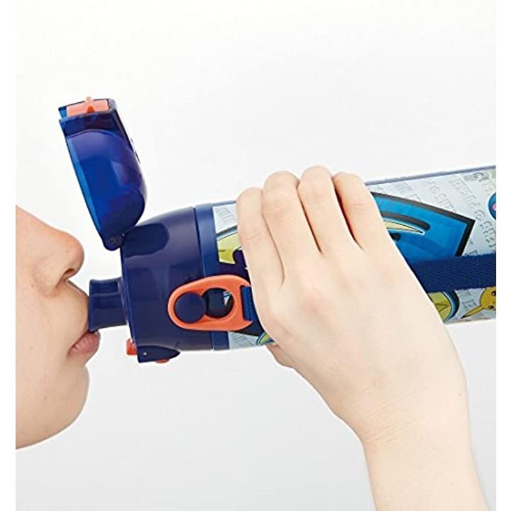 スケーター 超軽量・コンパクトロック付ワンプッシュダイレクトボトル ポケットモンスター サン&ムーン 0.58L SDC6の商品画像|3