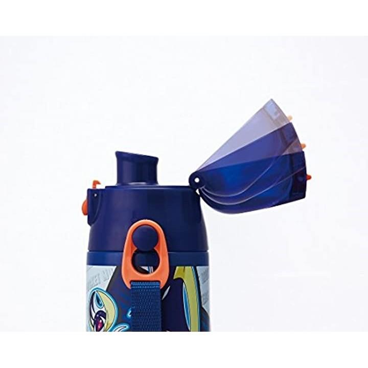 スケーター 超軽量・コンパクトロック付ワンプッシュダイレクトボトル ポケットモンスター サン&ムーン 0.58L SDC6の商品画像|4