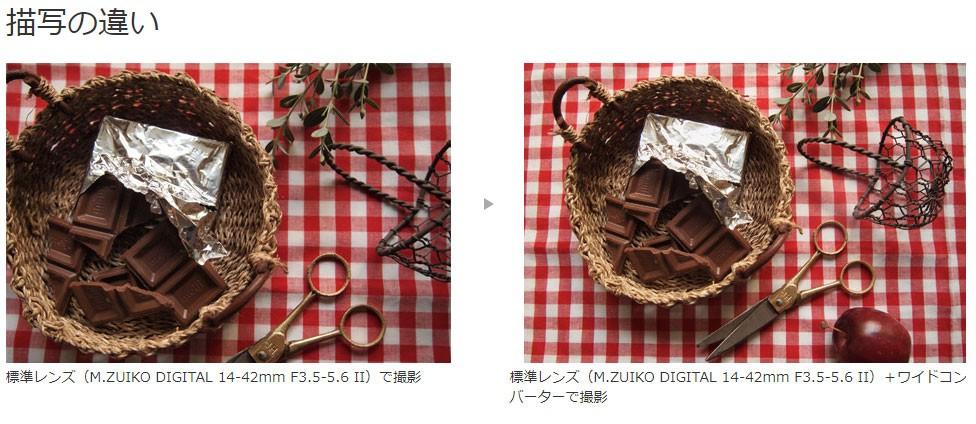 オリンパス ワイドコンバーター WCON-P01の商品画像|3
