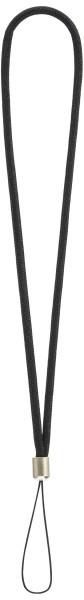 エツミ ループネックストラップ E-1471 (ブラック)の商品画像|2