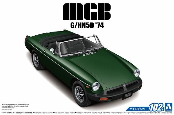 BLMC G/HN5D MG-B MK-3 1974 (1/24スケール ザ・モデルカー No.102 056868)の商品画像|4