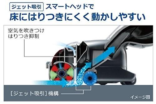 日立 かるパック CV-PE300-N (シャンパンゴールド) [紙パック式]の商品画像|4