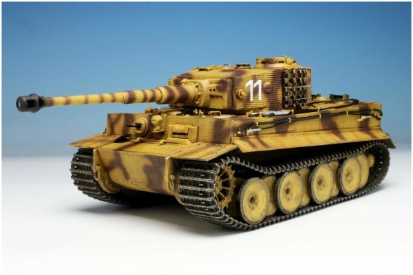 WW.II ドイツ軍 ティーガーI 中期型 第506重戦車大隊 東部戦線1944 w/ツィメリットコーティング & エッチングパーツ (1/35スケール DR6624SP)の商品画像|ナビ