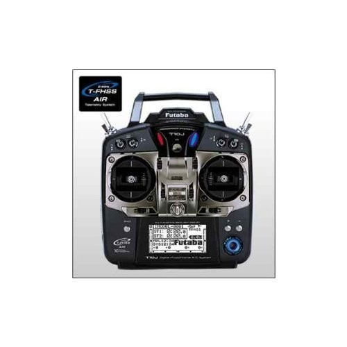 フタバ プロポ 10J(10ch-2.4GHz T-FHSS AIRモデル)/R3008SB(T-FHSS AIR)*2 ヘリ用 WレシーバーT/Rセット 026362の商品画像|ナビ