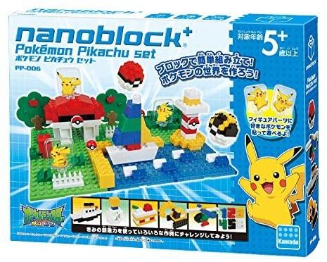 ナノブロックプラス ポケットモンスターシリーズ ポケモン ピカチュウセット PP-006の商品画像|ナビ