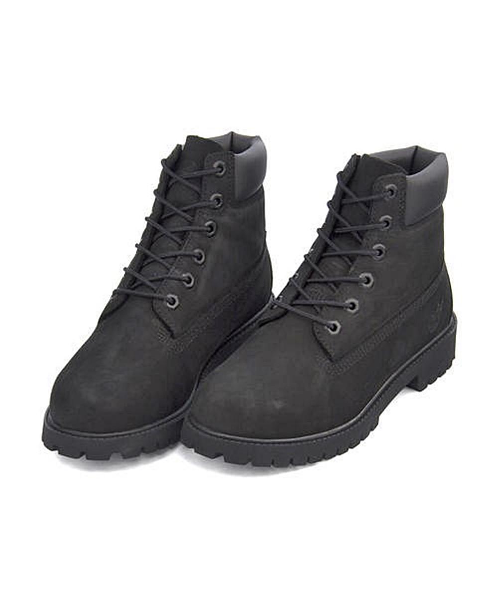 ティンバーランド 6インチ プレミアム ウォータープルーフ ブーツ 12907(ブラック)の商品画像|2