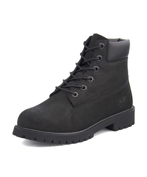 ティンバーランド 6インチ プレミアム ウォータープルーフ ブーツ 12907(ブラック)の商品画像|3