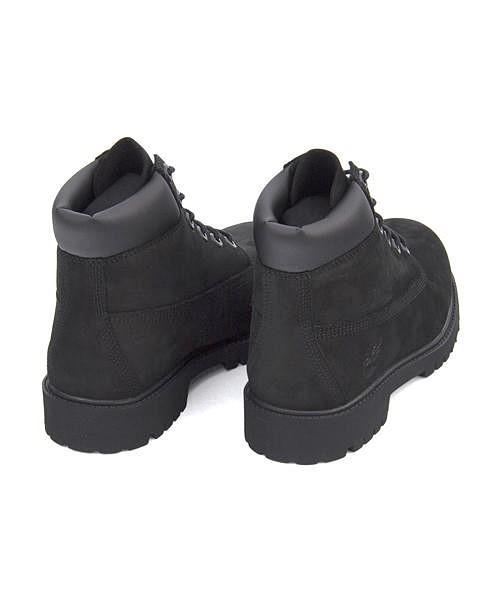 ティンバーランド 6インチ プレミアム ウォータープルーフ ブーツ 12907(ブラック)の商品画像|4