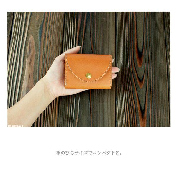 三つ折り財布 レディース BAGGY PORT バギーポート 牛革 栃木レザー ミニ財布
