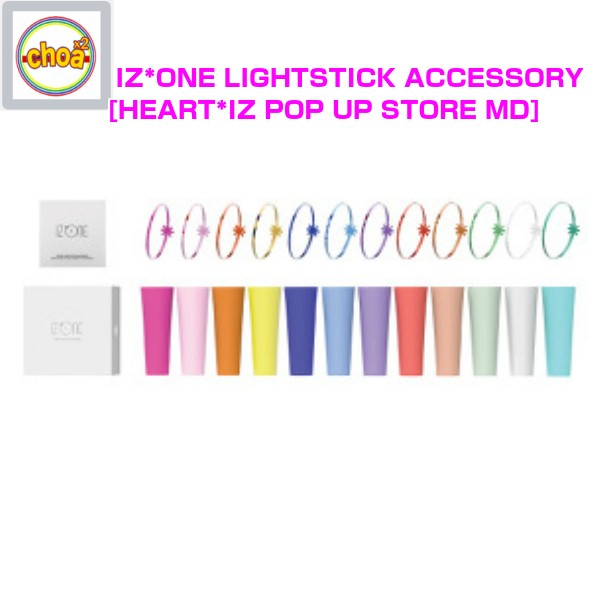 IZ*ONE LIGHTSTICK ACCESSORY [HEART*IZ POP UP STORE GOODS] OFFICIAL MD I z one official
