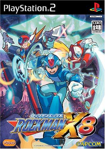 【PS2】 ロックマンX8の商品画像 ナビ