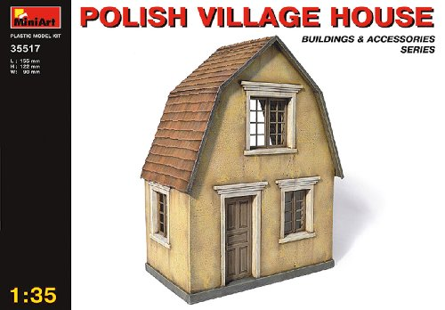 ポーランドの村の家 ジオラマアクセサリー (1/35スケール MA35517)の商品画像|ナビ
