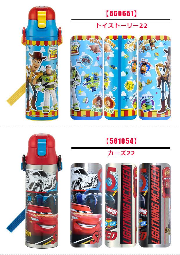 スケーター 超軽量・コンパクトロック付ワンプッシュダイレクトボトル アナと雪の女王17 0.58L SDC6の商品画像 4